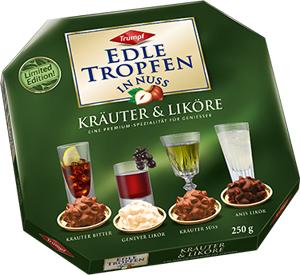 Trumpf Edle Tropfen in Nuss Kräuter & Liköre 250g