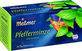 2- Messmer Pfefferminze 56,25g für 25er x 2,25g