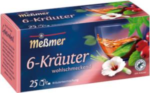 Messmer 6-Kräuter-Mischung 50g für 25er x 2g