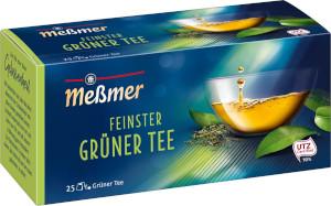 Messmer Feinster Grüner Tee 43,75g für 25er à 1,75g