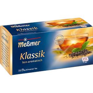 Meßmer Schwarzer Tee Klassik fein-aromatisch 43,75g für 25er