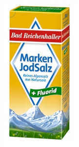 Bad Reichenhaller Marken Jodsalz + fluorid 500g