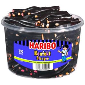 3- Haribo Konfekt Stangen 1200g für 150 Stück
