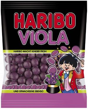 5- Haribo Viola Lakritz Dragees 125g