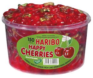 3- Haribo Happy Cherries 1200g für 150 Stück