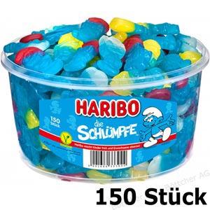 Haribo die Schlümpfe 1350g für 150 Stück