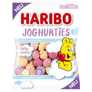 Haribo Joghurties Fruchtgummi mit Magermilch joghurtpulver 175g