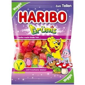 Haribo Grünis Fruchtgummi. Für Vegetarier geeignet 200g
