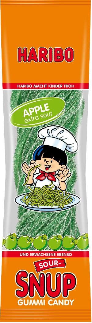Haribo Spaghetti Fizz Apple Flavour 200g