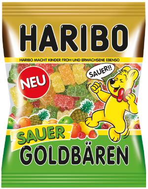 Haribo Goldbären Sauer (200g)