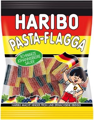 Haribo Pasta Flagga Sauer 175g