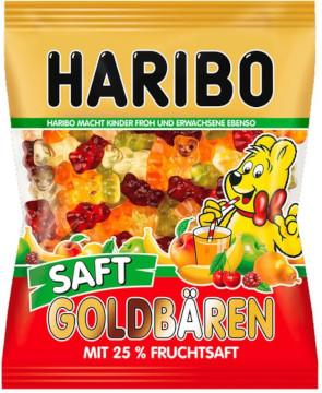 4- Haribo Goldbären Saft 175g