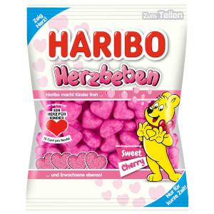 Haribo Herzbeben Sweet cherry 175g
