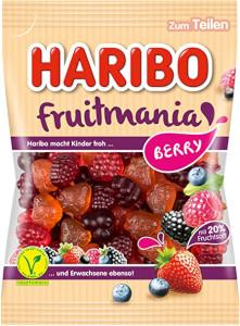 4- Haribo Fruitmania Berry 175g
