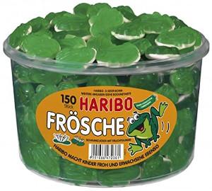 3- Haribo Quaxi Fröschli 1050g für 150 Stück