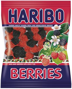Haribo Berries (200g.)