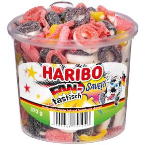 Haribo FAN-tastisch Sauer Fruchtgummi 570g