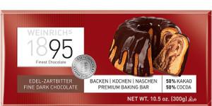 Weinrich Edel Zartbitter-Schokolade 250g