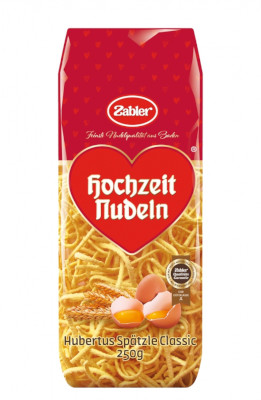 Zabler Hochzeits Nudeln Hubertus Spätzle geschabt 250g