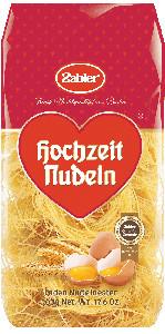 Zabler Hochzeit Nudeln Faden Nudelnester 500g