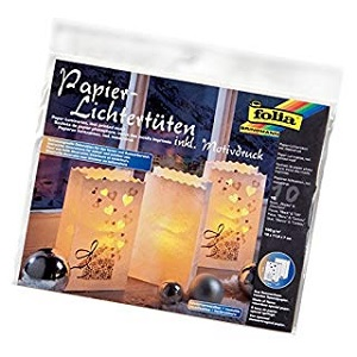 Folia Papier Lichtertüten 10 Stück
