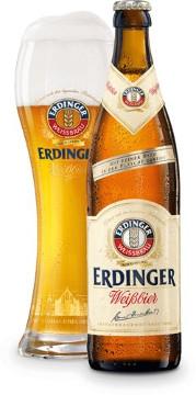 Erdinger Weissbier Alk. 5,3% vol 50cl x 4er