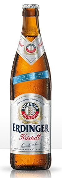 Erdinger Weissbier Kristall Alk. 5,3% vol 50cl