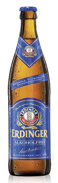 3- Erdinger Weissbier Alkoholfrei 50cl