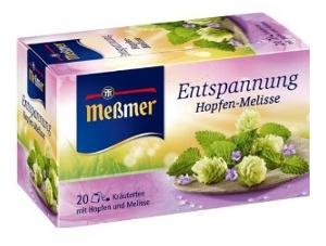 Messmer Entspannung Hopfen-Melisse 40g für 20er x 2g