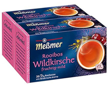 Messmer Rooibos Wildkirsche Fruchtig-mild 40g für 20er x 2g