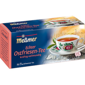 Messmer Feinster Ostfriesen-Tee Kräftig-Vollmundig 25er x 1,5g