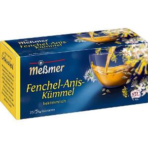 Messmer Fenchel-Anis-Kümmel 50g für 25er x 2g