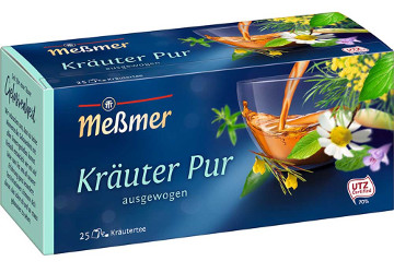 Messmer Kräuter Pur 50g für 25er x 2g