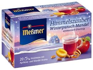 Messmer Himmelszauber Winterpunsch-Mandel (20er)