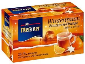 Messmer Wintertraum Zimtstern-Orange (20er)