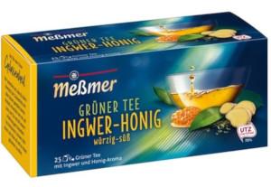 Messmer Grüner Tee Ingwer-Honig 43,75g für 25er x 1,75g