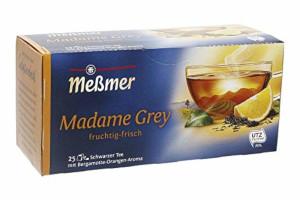 Messmer Madame Grey Schwarzer Tee 43,75g für 25 Beutel