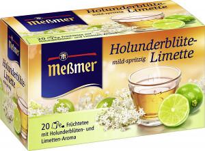 Messmer Holunderblüte-Limette 20 sachets
