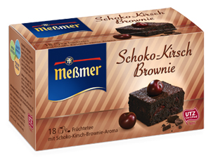 Messmer Schoko-Kirsch-Brownie 40,5g