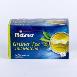 4- Messmer Grüner Tee mit Matcha 30g für 20er x 1,5g