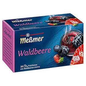 Messmer Waldbeere 55g für 20 Beutel x 2,75g