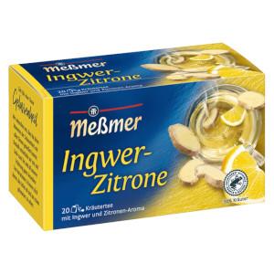 Messmer Ingwer Zitrone 40g für 20er x 2g