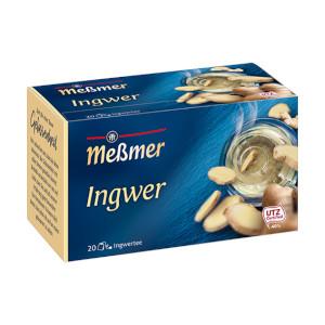 Messmer Ingwer 40g für 20 Beutel x 2g