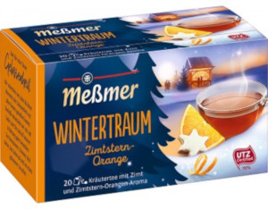 Messmer Wintertraum Zimtstern-Orange 40g für 20er x 2g