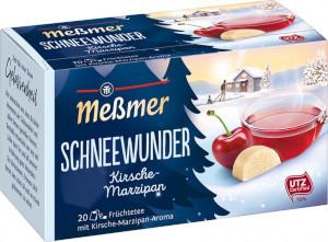 1- Messmer Schneewunder Kirsche-Marzipan 55g für 20er x 2,75g