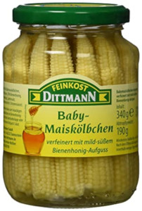 Feinkost Dittmann Baby Maiskölbchen 340g