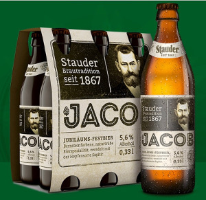Stauder Jacob (Jubiläums-Festbier) Alk. 5,6% vol 6er x 33cl