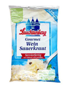 Leuchtenberg Gourmet Wein Sauerkraut 520g/500g