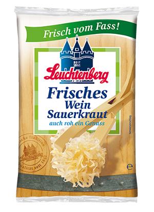 Leuchtenberg Frisches Wein Sauerkraut 500g