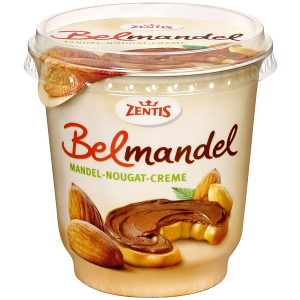 Zentis Belmandel (Mandel-Nougat-Creme) 400g